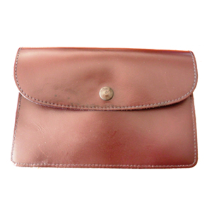 @ -  LEATHER BOOKLET CASE