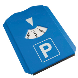 @ - PARKING TIME DISK ICE SCRAPER 3  TOKENS