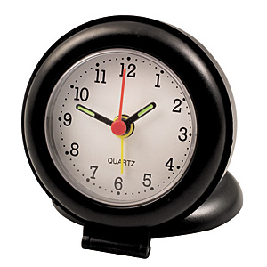 @ - TRAVEL ALARM CLOCK WITH COVER