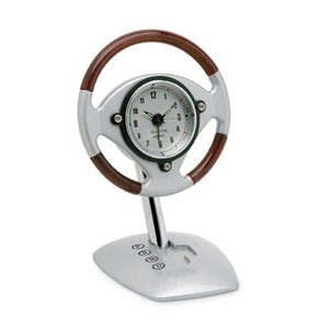 @ - DESK ALARM CLOCK
