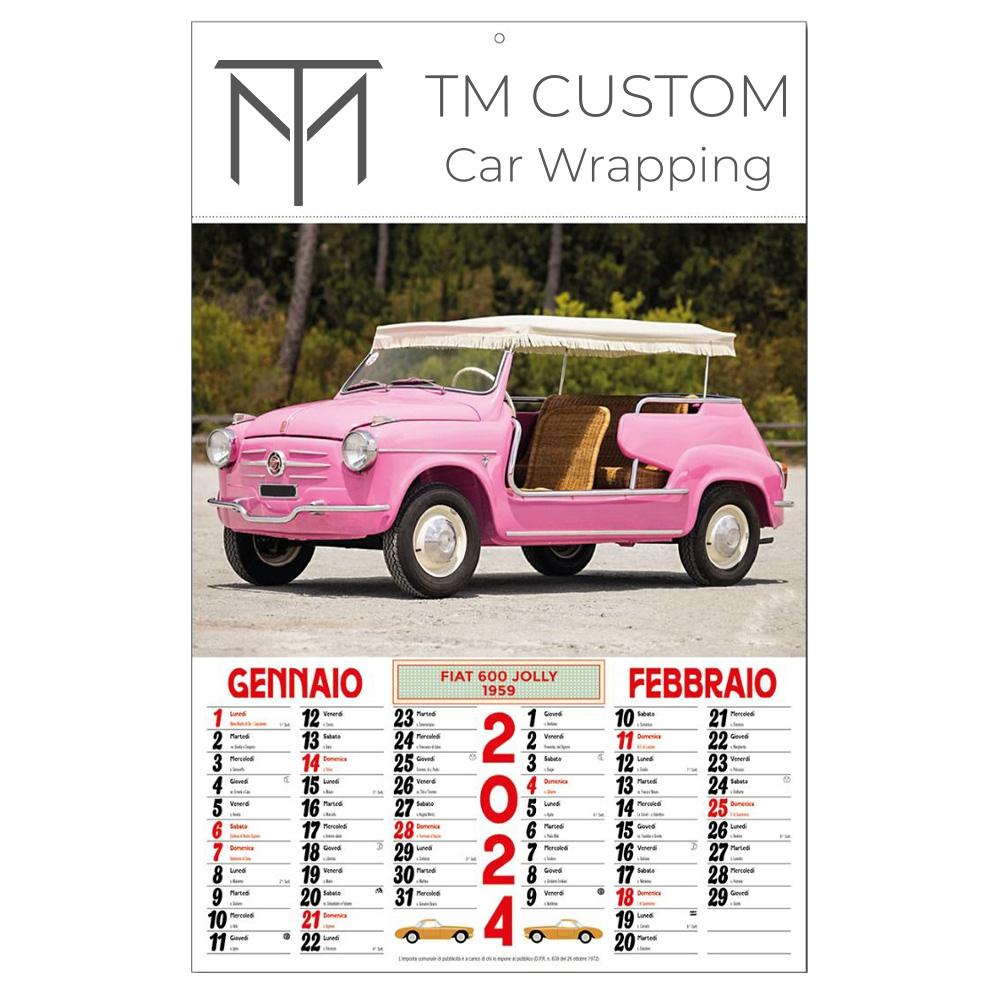 Calendario Auto.Merlino Pubblicita Calendario Auto Antiche