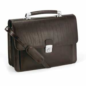 @ - LEATHER BAG