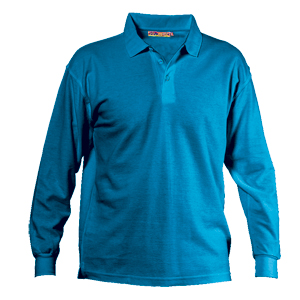 COLORED POLO PIQUÉ LONG SLEEVES 210 gr