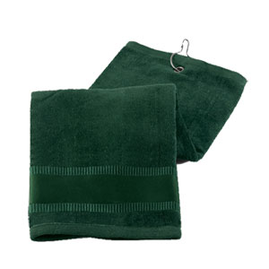 @ - TERRY TOWEL GOLF WITH HOOK